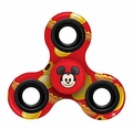 Disney Emoji Mickey Mouse (Mickey Mouse) Printed 3 Way Spinner (Red)