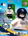 DJ Kitty Mascot (Tampa Bay Rays) MLB OYO Sportstoys Minifigures G4LE