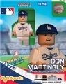 Don Mattingly Manager (Los Angeles Dodgers) MLB OYO Sportstoys Minifigures G4LE