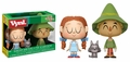 Dorothy with Toto and The Scarecrow (The Wizard of OZ) Vynl. by Funko