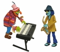 Dr. Teeth and Zoot The Muppets Series 4 Action Figure 2-Pack Diamond Select Toys