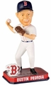 Dustin Pedroia (Boston Red Sox) Forever Collectibles 2014 MLB Springy Logo Base Bobblehead
