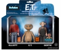 E.T., Elliot, Gertie (E.T. the Extra-Terrestrial) 3-Pack ReAction Figures by Funko