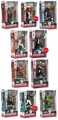 EA Sports Madden NFL 18 Ultimate Team Series 1 Set of 10 (Includes 3 Chases AND Brady LE) McFarlane