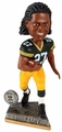 Eddie Lacy (Green Bay Packers) 2015 Springy Logo Action Bobble Head Forever Collectibles