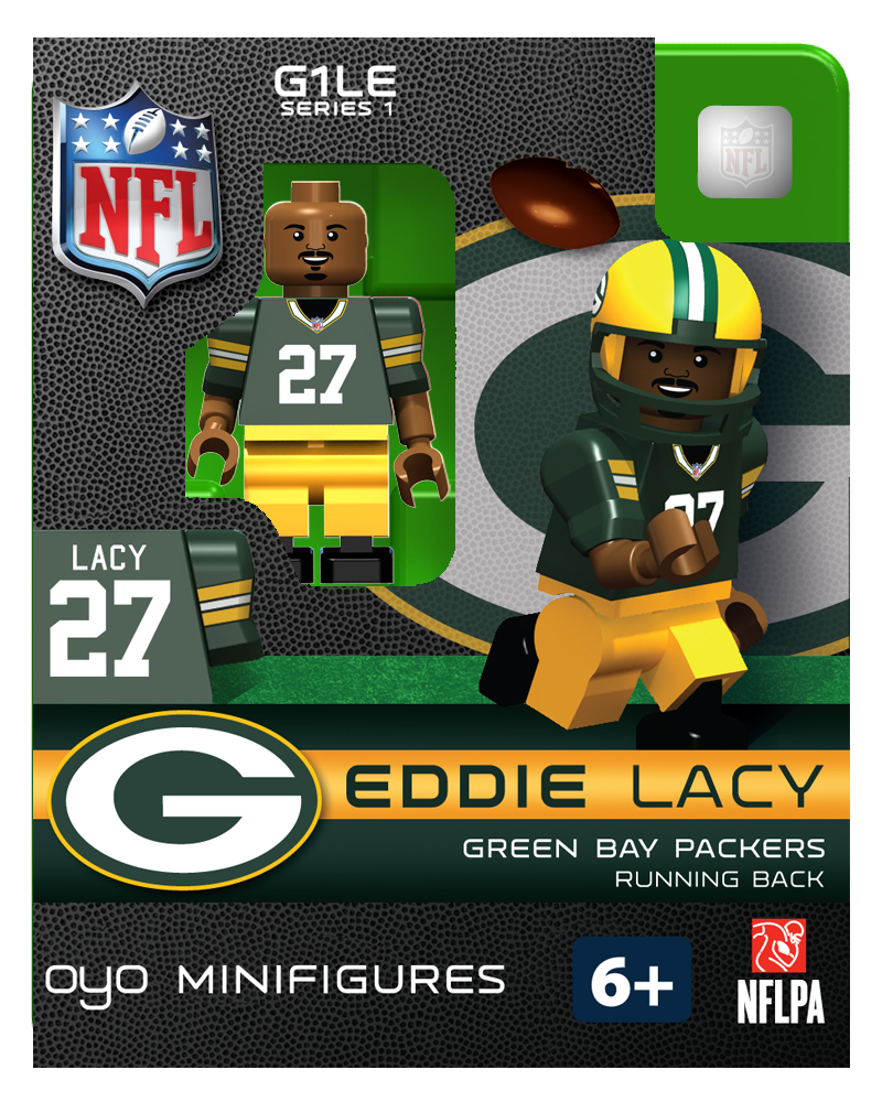 Eddie Lacy Green Bay Packers NFL OYO Sportstoys Minifigures