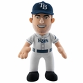 "Evan Longoria (Tampa Bay Rays) 10"" MLB Player Plush Bleacher Creatures"
