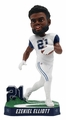Ezekiel Elliott (Dallas Cowboys) 2017 NFL Color Rush Bobblehead