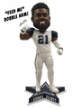 "Ezekiel Elliott (Dallas Cowboys) ""Feed Me"" Color Rush 10"" Bobblehead with Bobble Arm Exclusive"