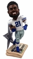 "Ezekiel Elliott (Dallas Cowboys) How 'Bout Them Cowboys Newspaper Base NFL 10"" Bobble Head"