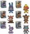 Five Night's at Freddy's The Twisted Ones Complete Set (6) Funko Pop!