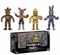 "Five Nights at Freddy's - Nightmare Edition 2"" Vinyl Figure Set by Funko"