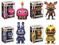 Five Nights at Freddy's Nightmare Complete Set (4) Funko Pop!
