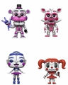 Five Nights at Freddy's Sister Location Complete Set (4) Funko Pop!