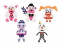"Five Nights at Freddy's Sister Location Complete Set (5) Funko 6"" Plush"