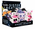 """Five Nights at Freddy's Sister Location Factory Sealed Case (9 PC PDQ) Funko 6"""" Plush"""