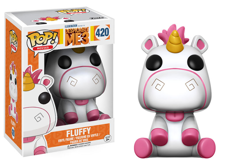 Fluffy Despicable Me 3 Funko Pop