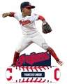 Francisco Lindor (Cleveland Indians) 2018 MLB Baller Series Bobblehead by Forever Collectibles