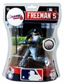 "Freddie Freeman (Atlanta Braves) 2017 MLB 6"" Figure Imports Dragon"