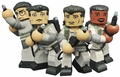 """Ghostbusters 4"""" Vinimates Complete Set of (4) by Diamond Select Toys"""