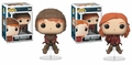 Ginny and Ron with Quidditch Brooms (Harry Potter) Funko Pop! Series 5 Complete Set (2)