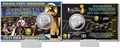 Golden State Warriors 2017 NBA Champions Silver Coin Card