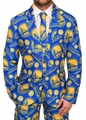 Golden State Warriors NBA Patches Ugly Business Suit by Forever Collectibles