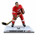 """Gordie Howe (Detroit Red Wings) Red Jersey Limited Edition Exclusive 2017-18 NHL Legend 6"""" Figure Imports Dragon ONLY 950"""