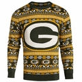 Green Bay Packers Aztec NFL Ugly Crew Neck Sweater by Forever Collectibles