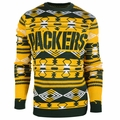 Green Bay Packers Aztec NFL Ugly Crew Neck Sweater