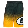 Green Bay Packers NFL 2016 Gradient Polyester Shorts By Forever Collectibles