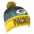 Green Bay Packers NFL Camouflage Light Up Printed Beanies