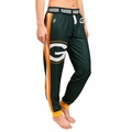 Green Bay Packers NFL Poly Fleece Women's Jogger Pant by Klew