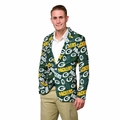Green Bay Packers NFL Ugly Business Sport Coat Repeat Logo by Forever Collectibles