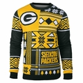 Green Bay Packers Patches NFL Ugly Sweater by Klew