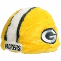 Green Bay Packers Plush Cozy Helmet Hat by Forever Collectibles