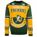 Green Bay Packers Retro Cotton Sweater by Klew