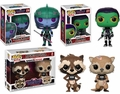 Guardians of the Galaxy: The Telltale Series Funko Pop! Complete Set (4)