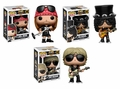 Guns N Roses Pop! Rocks Complete set (3) Funko Pop!