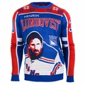 Henrik Lundqvist #30 (New York Rangers) NHL Player Ugly Sweater