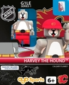 Harvey the Hound Mascot (Calgary Flames): Gen1 NHL OYO Minifigure