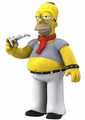 "Homer Simpson (Dressed like Lenny Kravitz) The Simpsons 25th Anniversary 5"" Action Figure Series 5 NECA"