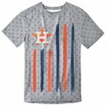 Houston Astros Big Logo Flag Tee by Forever Collectibles