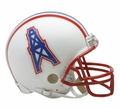 Houston Oilers (1981-96) Riddell NFL Throwback Mini Helmet