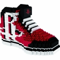 Houston Rockets NBA 3D Sneaker BRXLZ Puzzle By Forever Collectibles