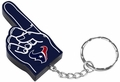Houston Texans #1 Foam Finger Keychain