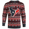 Houston Texans  2016 Aztec NFL Ugly Crew Neck Sweater by Forever Collectibles