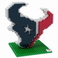 Houston Texans NFL 3D Logo BRXLZ Puzzle By Forever Collectibles