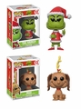 How the Grinch Stole Christmas! Complete Set (2) Funko Pop!