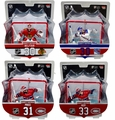 "Imports Dragon 2017-18 NHL Goalies with Nets 6"" Figures Complete Set (4)"
